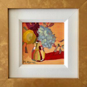 """""""More Terra Cotta"""" Framed 11 1/8″ x 11 1/8″"""